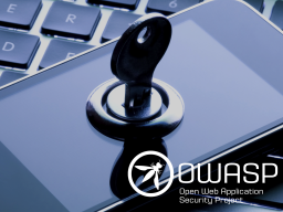 OWASP – Top 10 Mobile App Risks